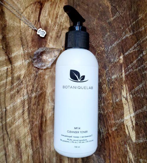 очищающий тонер для сухой кожи